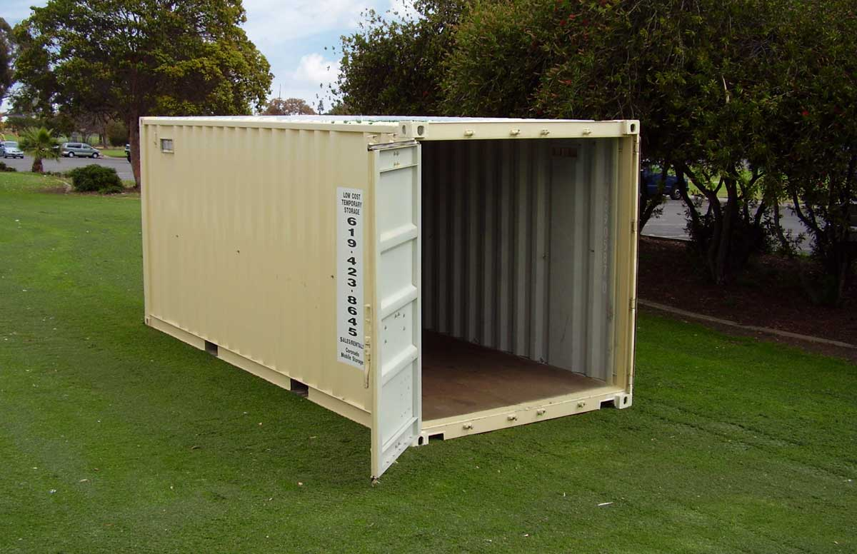 A photo of a Coronado Mobile Storage storage container in San Diego